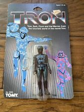 New listing Vintage Tron Action Figure 1981 Tomy Disney- Comes With Packaging