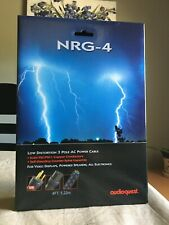 Audioquest NRG-4 Power Cable 15 Amp  4 foot