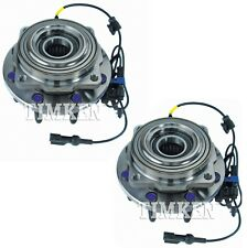 Pair Set 2 Front Timken Wheel Bearing & Hub Kits for Ford F-250 F-350 S Duty 4WD