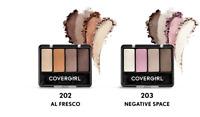 Covergirl Eye Enhancers Eyeshadow Kit 202 Al Fresco 203 Negative Space Choose