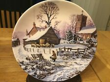 CHRISTMAS PLATE - CHRISTMASTIDE - THE FARM YEAR - DECEMBER - MICHAEL HERRING