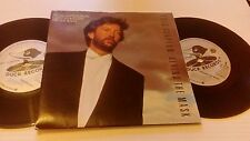 "Eric Clapton Behind The Mask - Double Pack UK 7"" vinyl single record W8461F"