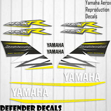 Yamaha Aerox Liquidcooled Decals Stickers Graphics Kit Scooter Reproduction