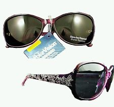 Elegant Womans Purple PolarVision Butterfly Polarized Sunglasses Buy more & $ave