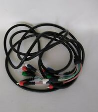 Stereo Component Cable 12' Red, Green, Blue Video & White & Red Steren