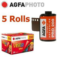 5 Roll x AGFA PHOTO AgfaPhoto VISTA Plus 200 ISO 36exp 135 35mm Color Film