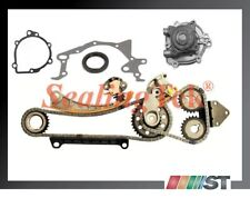 Fit Suzuki G18K J18A J20A J23A Engine Timing Chain Gear Set with Water Pump kit