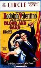 Signe Métallique sang et de sable 1922 03 A4 12x8 aluminium
