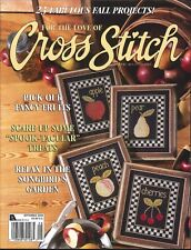 For The Love Of Cross Stitch Magazine Sep 2000 Halloween Favors 3 French Hens