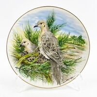VTG Southern Living Gallery Game Birds of the South MOURNING DOVE Plate.
