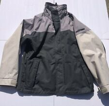 O'Neill Snowboard Jacket Men's Size Medium Gray/Charcoal/Ivory