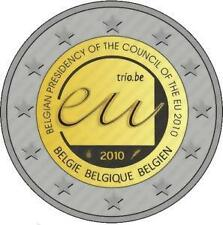 2 EURO België 2010 Belgique ** Presidency Voorzitter EU