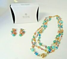 AVON Signature Collection Summer Breeze Beaded Necklace And Earring Set