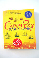 Coram Boy - Signed Copy ( paperback 2004) by Jamila Gavin