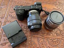 Sony Alpha NEX7 24.3 MP Digital Mirrorless Camera W/ SEL1855 & SEL50F18 Lenses