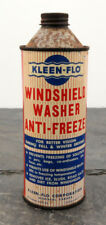 Vintage Kleen-Flo Windshield Washer Anti-Freeze Canada Bottle/Can 16 oz. Oil