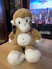 Mary Meyer Brown White Stuffed Plush Floppy Monkey Beanbag Marshmallow NWT
