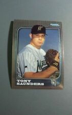 TONY SAUNDERS 1997 BOWMAN CHROME RC ROOKIE CARD # 137 A8075