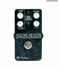 NEW KEELEY HOOKE REVERB GUITAR EFFECTS PEDAL w/ FREE US SHIPPING & FREE CABLE
