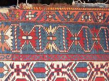 Antique Caucasian Shirvan Kazak Kuba Geometric Tribal Rug Carpet 3'11'' x 5'8''