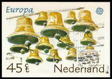 NL MK 1981 EUROPA CEPT GLOCKENSPIEL MAXIMUMKARTE CARTE MAXIMUM CARD MC CM bb88