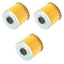 3PCS for Kawasaki Bayou 220 KLF220 1998-2002 KLF250 2003-2011 ATV Oil Filters