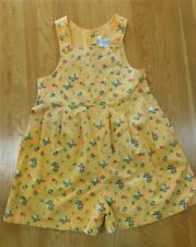 Vintage 1998 GYMBOREE Girls COUNTRY MEADOWS Short Romper XXL 6-7 yrs RARE!