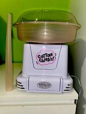 USED Nostalgia PCM805 Hard & Sugar-Free Candy Cotton Candy Maker Retro Design