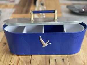 Grey Goose Vodka Stainless Steel Bar Condiment Garnish Caddy Fruit Tray