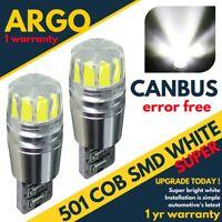 Fits Audi A3 Sidelight Bulbs 2003-2013 Led Xenon White Side Light Car Bulb 12v