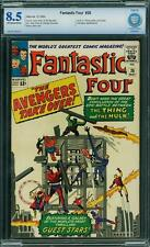 Tu Four # 26 US Marvel 1964 Thing Vs Hulk Avengers App CBCS 8.5 VFN +