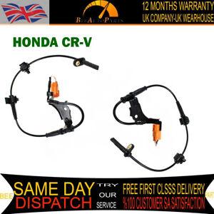 2X FRONT ABS SPEED SENSOR FOR HONDA CRV CR-V 2 3 2.0 2.2 2.4