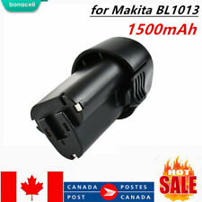 10.8V 1.5Ah Li-ion Power Tool Battery Replacement for Makita BL1013 BL1014 CA