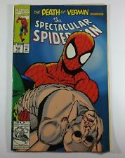 Spectacular Spider-Man 1976 series 196 Death of Vermin Conclusion! Marvel comics