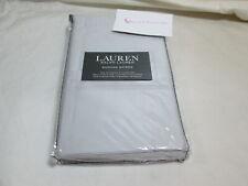 RALPH LAUREN Dunham Sateen 2 Standard Pillowcases  ~ Opal Grey Gray NEW