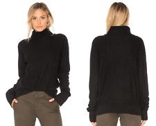 Vince $335 Boiled Cashmere Turtleneck Sweater; L