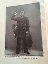 Robert Louis Stevenson 1917 - DR. JEKYLL & MR. HYDE / MERRY MEN - Hardcover Book