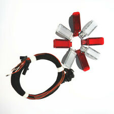 Red /White Door Panel Warning Light Lamp Wiring Harness Cables for Audi A3 B8 TT
