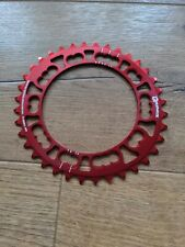 Rotor Q Ring 36 T RED 110 BCD Chainring