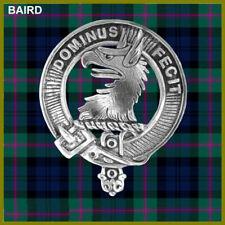 Baird Scottish Clan Badge, Pewter