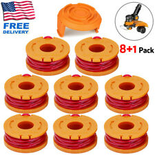 Wa0010 Grass Trimmer Line For Worx Trimmer Spools Weed Eater Edger String 8 Pack