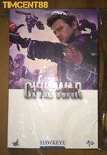 Ready Hot Toys MMS358 Captain America: Civil War 1/6 Hawkeye Jeremy Renner