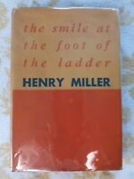Henry Miller, Edwin Corle / The Smile at the Foot of the Ladder 1st Edition 1948