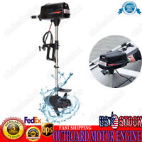 48V Electric Brushless Outboard Motor Inflatable Fish Boat Engine 2.2KW SALE