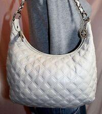 THE SAK Beige Small Medium Leather Shoulder Hobo Tote Satchel Slouch Purse Bag