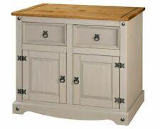 Big Furniture Warehouse SIDSMLGRY Corona Storage Cupboard - Grey