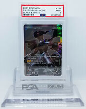 Pokemon BLACK AND WHITE FULL ART ZEKROM #114 SECRET RARE PSA 9 MINT #28385954