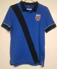 Reebok Membership Crest Sample Polo Shirt Men's Blue