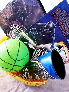 Marvel Black Panther Easter Basket Eggs + Candy Gift Basket School Set