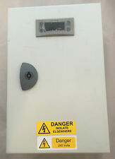 Temperature Monitor Panel Box